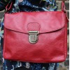 Louisa Red Messenger Bag